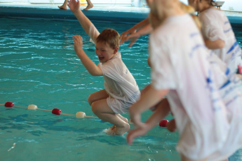 plezier en zwemles
